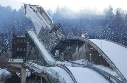Schanzenrekord Garmisch